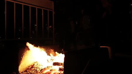kurdistan : Jumping over the Fire at Night