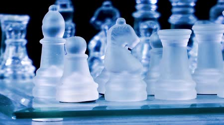 xadrez : Chess Game Made by Glass