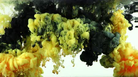 inkoust : Art Ink Liquid Paint Splash in Underwater Dostupné videozáznamy