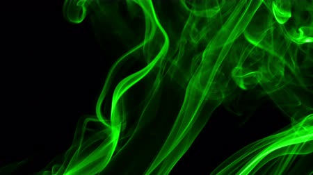 elszigetelt fekete : Abstract Colorful Fluid Smoke Element Turbulence