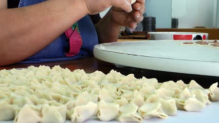 meze : Turkish Traditional Food Ravioli Pastry named Manti