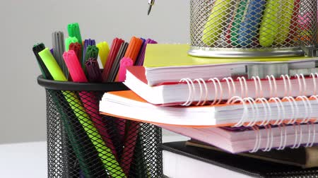 borracha : School and Office Equipment Stock Footage