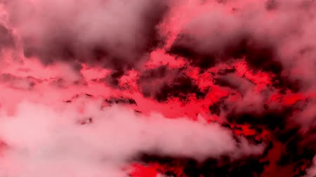 witchcraft : Dark Burning Clouds like Hell