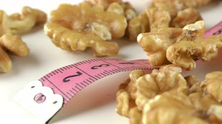 сухой : Walnut and Measurement Macro View