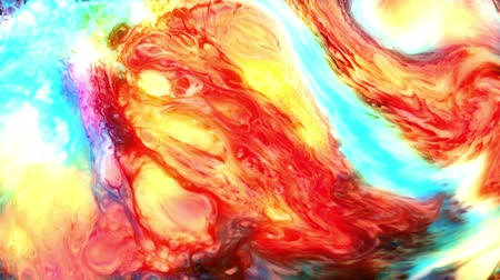 aquarela : Abstract Art Ink Paint Blast Explode Turbulence