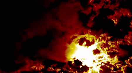 bruciatura : Burning Fire Clouds like Devil Hell