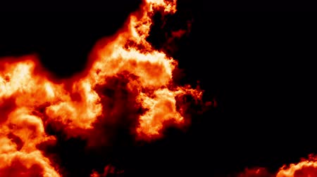 zlo : Burning Fire Clouds like Devil Hell