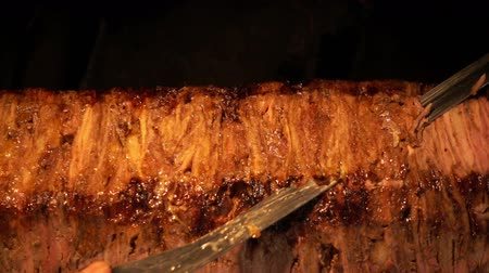 Turkish Anatolian Traditional Eastern Food Beef or Lamb Doner Kebab