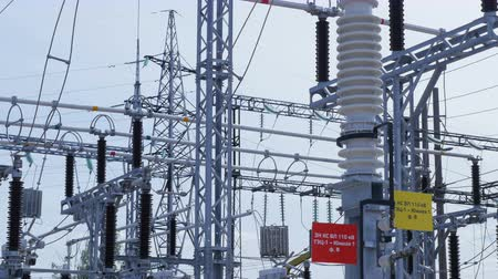 watt : transforming substation for distributing electrical energy