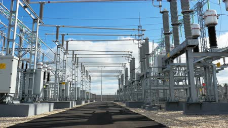 watt : power switches, disconectors and measuring equipment at substation