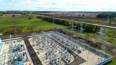 watt : industrial buildings and switchgears at substation