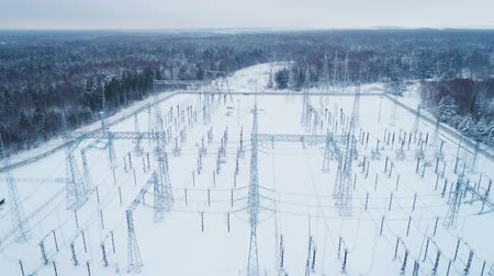 voltů : snowed territory of high voltage electricity station Dostupné videozáznamy