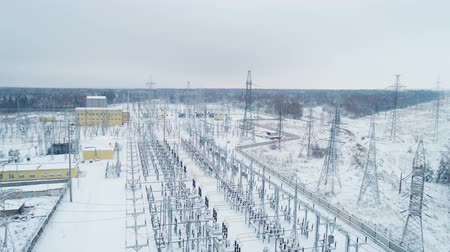 watt : equipment and supporting towers on transmission station territory
