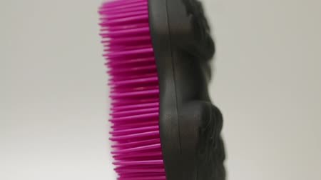 luxo : Hair Comb Black Pink