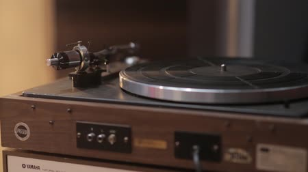 vinyl album : The Old Vintage Record Player