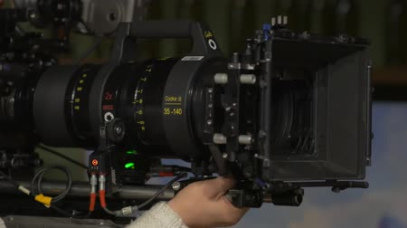 compendium : The Film Set Camera Big Lens
