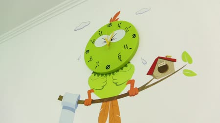 wandklok : The Walls Clock Bird