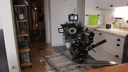 sinematografi : Camera Film Dolly Set