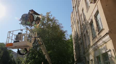 sinematografi : Film Light Set Cherry Picker
