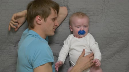 ниппель : Father With A Baby Boy