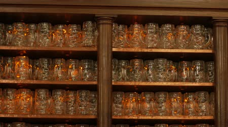 craft beer : Beer Mugs In A Pub