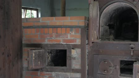 genocide : Closeup Of Cremation Furnace