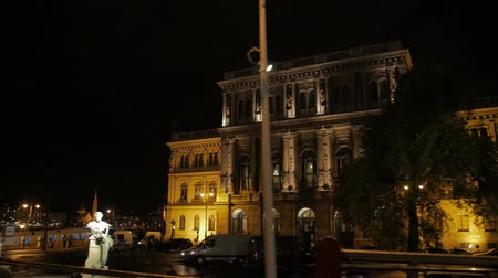 Old Building Architecture At Night
