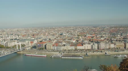 Panorama Of Budapest Cityscape