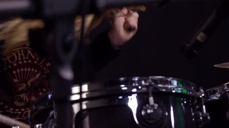 musical intrument : Rock Drummer Girl