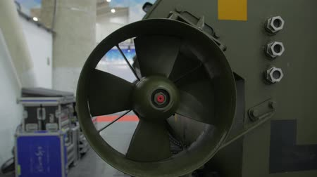 armoured : Propeller Of Military Boat