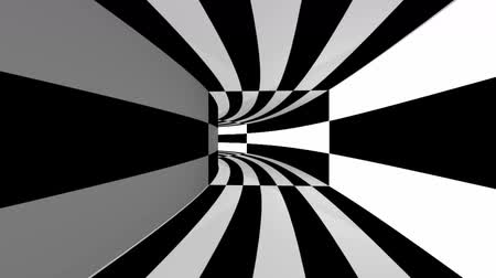 Looping abstract animation tunnel.