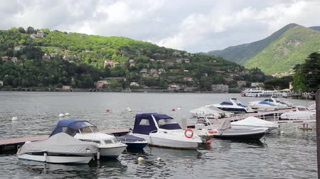 Yacht Club of Lake Como, Italy Wideo