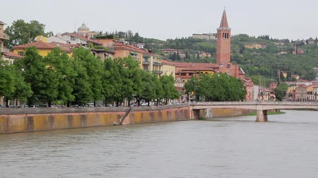 View Of Verona And River Adige, Italy