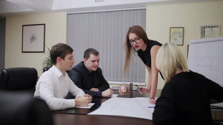 проект : Business people group on meeting in office