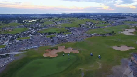 kurs : Golf course from drone