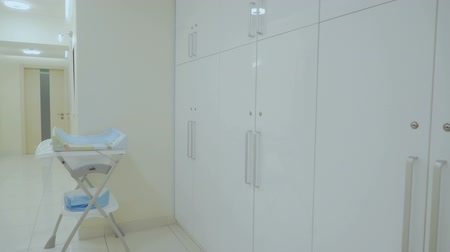šatník : Baby changing table in the modern clinic
