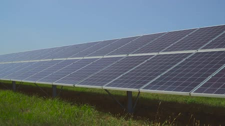 enviroment : Clean renewable energy. Solar Panels.