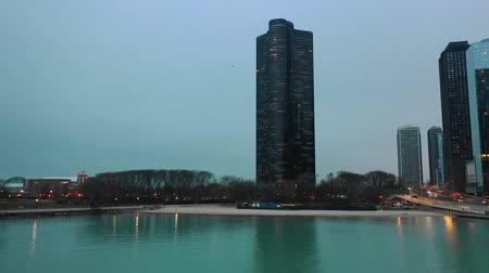 arquipélago : Beautiful Chicago Panoramic View with Modern Building Tourism Attraction