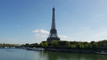 예망 : Hyper Lapse Eiffel Tower, Paris. France 무비클립