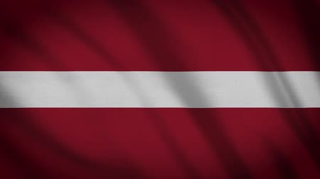 Латвия : Latvia Flag Waving Cloth Background, Loop