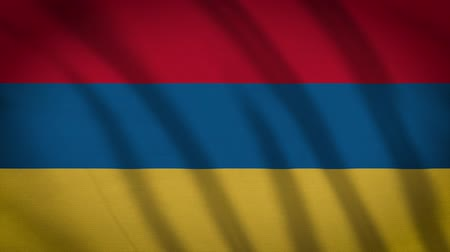 demokratie : Armenia Flag Waving Animation. Ganzer Bildschirm. Symbol des Landes.
