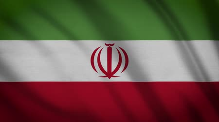 color surge : Iran Flag Waving Animation. Full Screen. Symbol Of The Country.