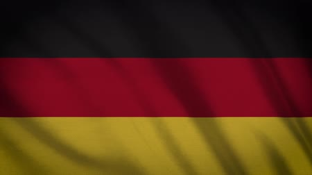 rama obrazu : Germany Flag Waving Animation. Full Screen. Symbol Of The Country.