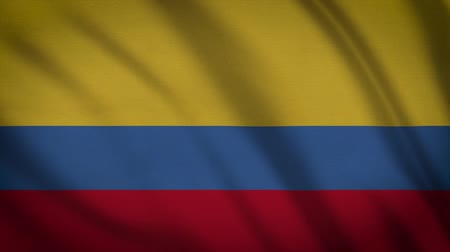 cabeçalho : Columbia Country Flag Animation Stock Footage