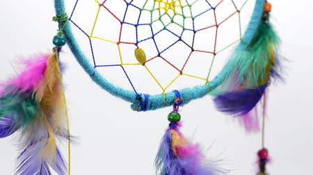 shaman : Traditional Colorful handmade dream catcher