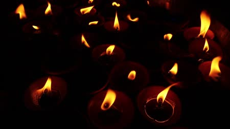 the conception : Candles In The Dark. Close Up