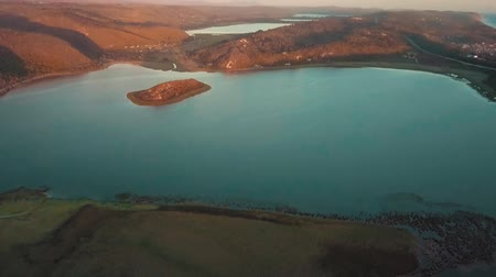 enviroment : Aerial Footage Of Water Around Hills and Mountains