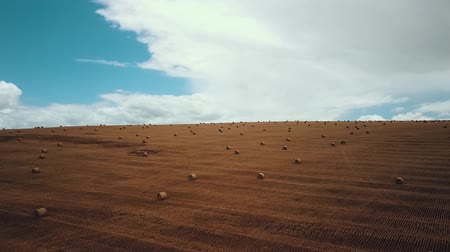 rulolar : Farm Field With Hay Bales
