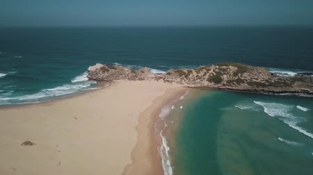 praia : Beautiful Seashore Of Sand And Rocky Hills