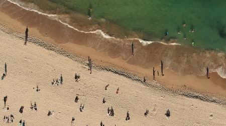 юг : Birds Eye View Of Beach. Sydney Australia.